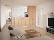 開放的な雰囲気のキッチン